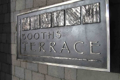 Jeff Teasdale Brewery Arts Centre, Kendal,Booths Terrace,Bronze4'x2'[1]
