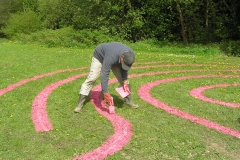 Pink labyrinth Bollington