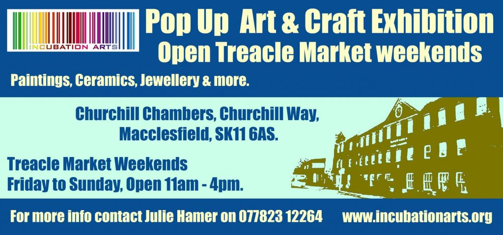 Treacle Market Pop-up Art & Crafts exhibition