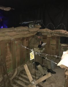 Images from WW1 Trench Installation