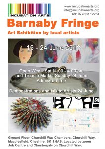 Barnaby Fringe 15 - 25 June 2018